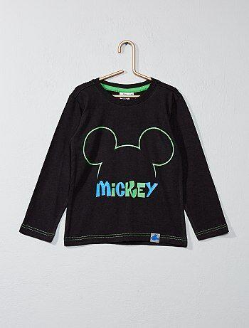 T-shirt met 'Mickey'-print - Kiabi