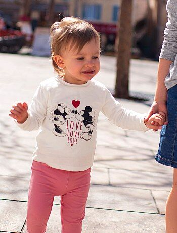 T-shirt met 'Minnie'-print - Kiabi