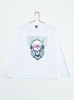 Jongens t-shirts - T-shirt met omkeerbare lovertjes