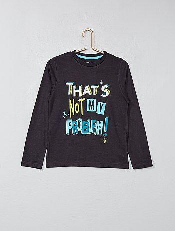 T-shirt met print - Kiabi
