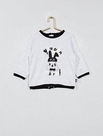Jongen 0-36 maanden - T-shirt met print - Kiabi