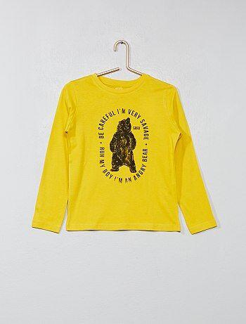 T-shirt met print op de voorkant - Kiabi