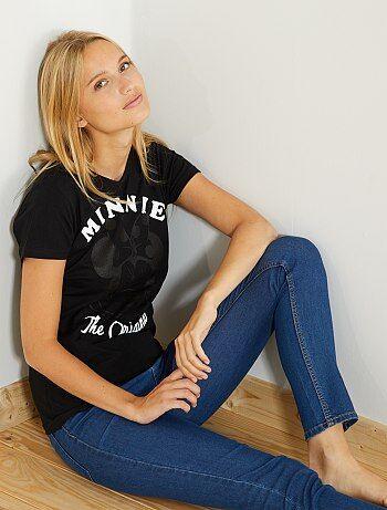 T-shirt met print van 'Minnie' - Kiabi