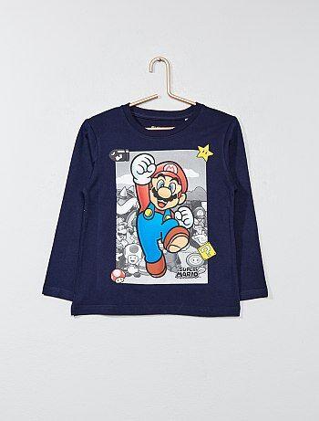 T-shirt met print van 'Super Mario' - Kiabi