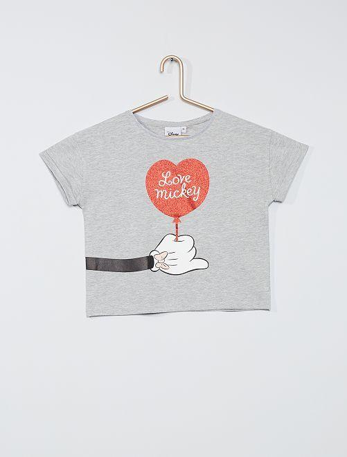 T-shirt 'Minnie'                                                     GRIJS