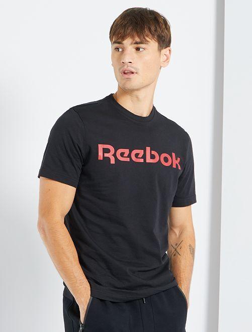 T-shirt 'Reebok'                             ZWART