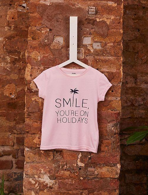 T-shirt van biologisch katoen                                                                                                     ROSE Kinderkleding meisjes