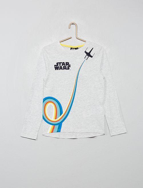 T-shirt van 'Star Wars'                             WIT