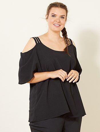 Dames Size+ - Top met blote schouders - Kiabi