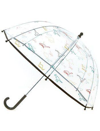 Transparante paraplu met leuke print - Kiabi