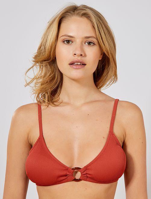 Triangelvormig bikinibovenstukje                                 ORANJE