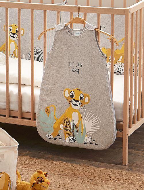 Tricot babyslaapzak van 'Simba'                             GRIJS
