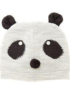 Accessoires - Tricot muts 'panda'