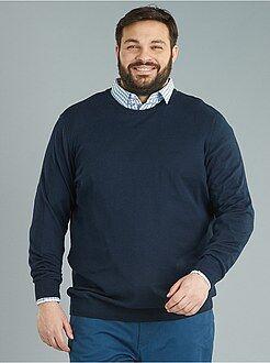 Trui van dun tricot van 100% katoen - Kiabi