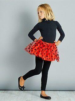 Kinder verkleedkleding - Tutu lieveheersbeestje