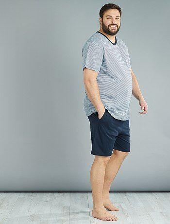 Tweedelige korte pyjama - Kiabi