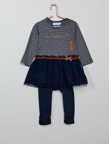 Tweedelige set met jurk en legging - Kiabi