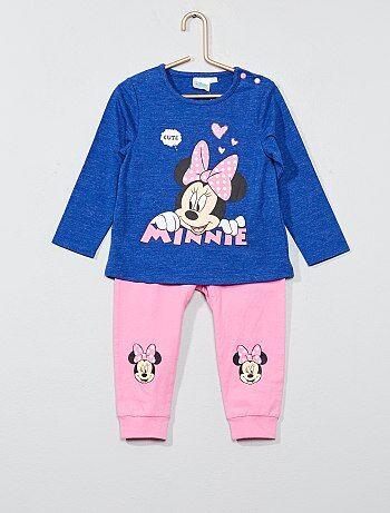 Meisje 0-36 maanden - Tweedelige setje van 'Minnie' - Kiabi