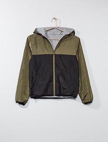 Tweekleurig jasje, aan twee kanten te dragen - Kiabi