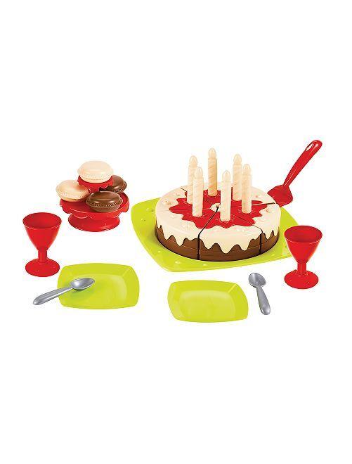 Verjaardagstaartset 'Ecoiffier'                             meerkleurig