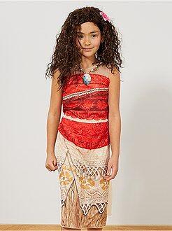 Kinderen - Verkleedjurk van 'Vaiana' - Kiabi