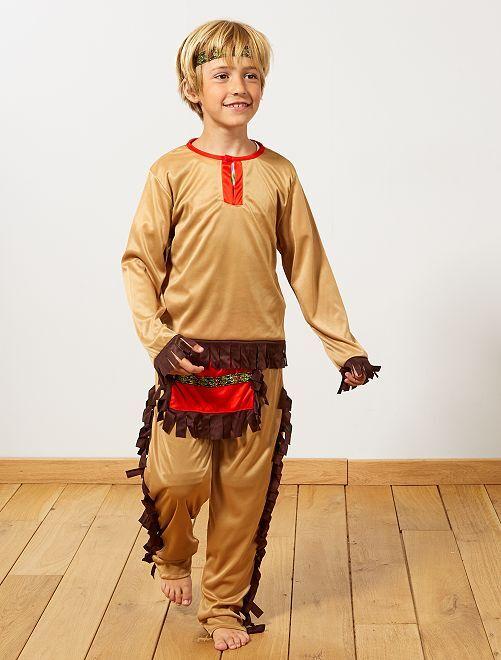 Verkleedkostuum indiaan                             bruin Kinderen
