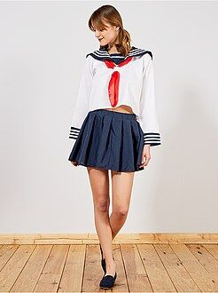 Verkleedkostuum Japans schoolmeisje - Kiabi