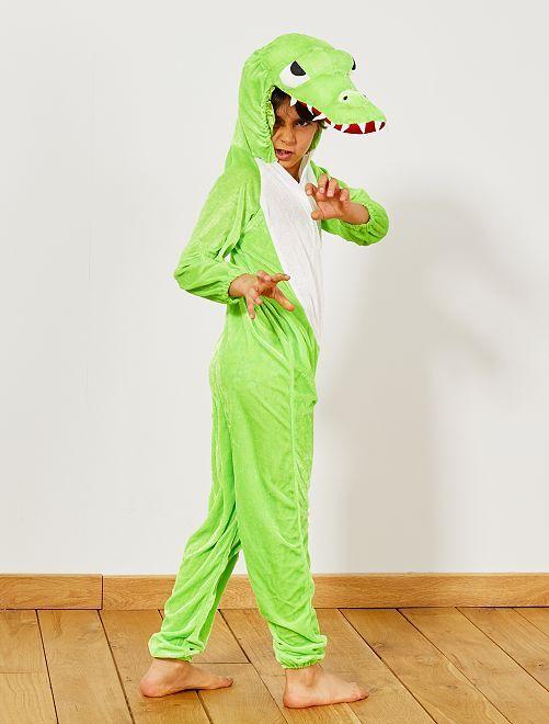 Verkleedkostuum krokodil                             groen