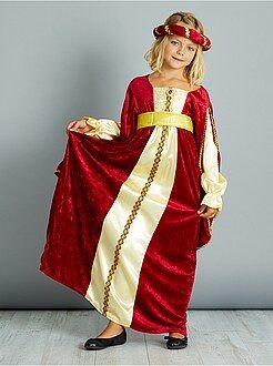 Kinder verkleedkleding - Verkleedkostuum middeleeuwse jurk