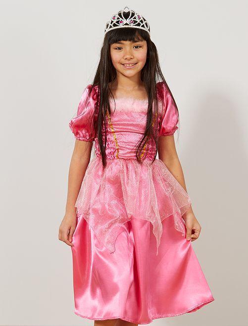 Verkleedkostuum prinsessenjurk                             roze