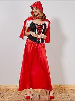Dames verkleedkleding - Verkleedkostuum Roodkapje voor dames