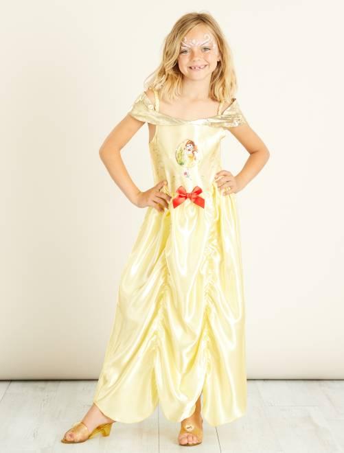 Verkleedkostuum van 'Belle' uit 'Belle en het Beest'                             geel