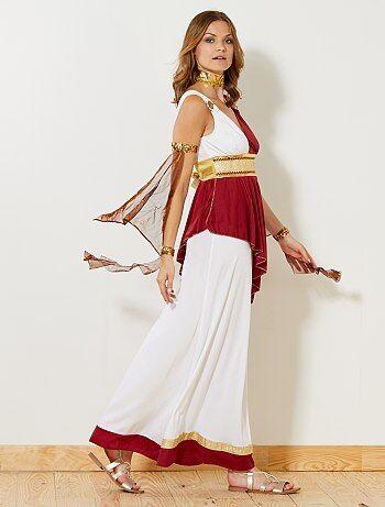 Dames - Verkleedkostuum van een Romeinse keizerin - Kiabi