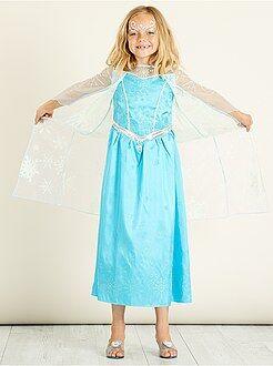 Kinder verkleedkleding - Verkleedkostuum van 'Elsa' van 'Frozen' - Kiabi