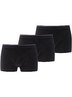 Ondergoed - Verpakking met 3 boxers - Kiabi