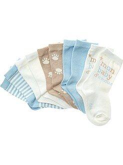 Sokken - Verpakking met 5 paar halfhoge sokken