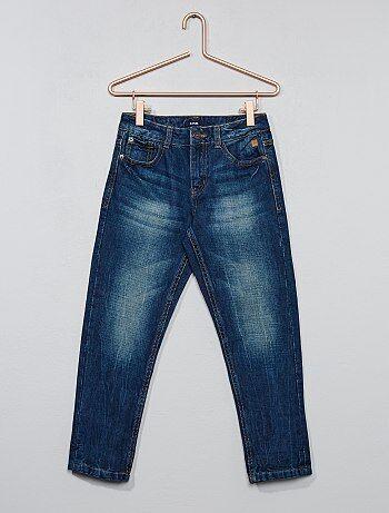 Verwassen jeans met relaxed fit - Kiabi