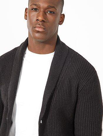 Vestje met een sjaalkraag - Kiabi