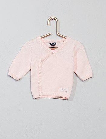 Meisje 0-36 maanden - Vestje van fijn tricot - Kiabi