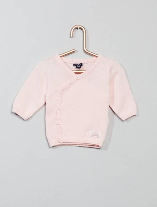 Vestje van fijn tricot                                         ROSE Meisjes babykleding