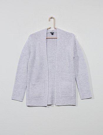 6d88684ead9aa2 Meisjeskleding 3-12 jaar - Vestje van tricot - Kiabi