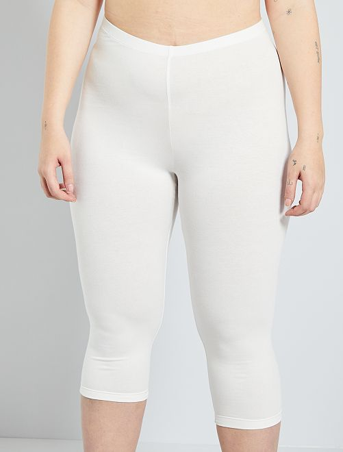 Viscose legging                                                     sneeuw wit