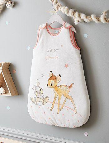 Meisje 0-36 maanden - Warme babyslaapzak van 'Bambi' - Kiabi