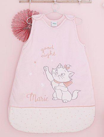 Meisje 0-36 maanden - Warme fluwelen babyslaapzak van 'De Aristokatten' - Kiabi