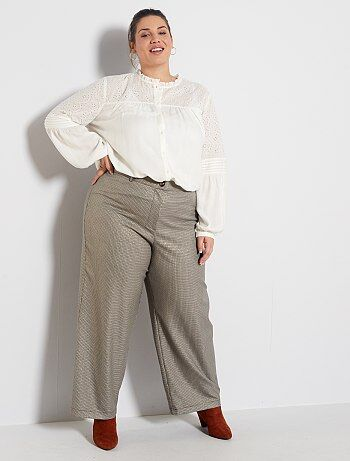 Sales wijde broek dames dameskleding | Kiabi