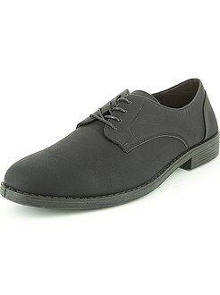 Zwarte nette schoenen van imitatieleer