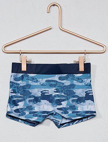 Zwembroek van stretch tricot - Kiabi