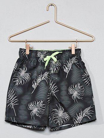 Zwemshort met palmbomenprint - Kiabi